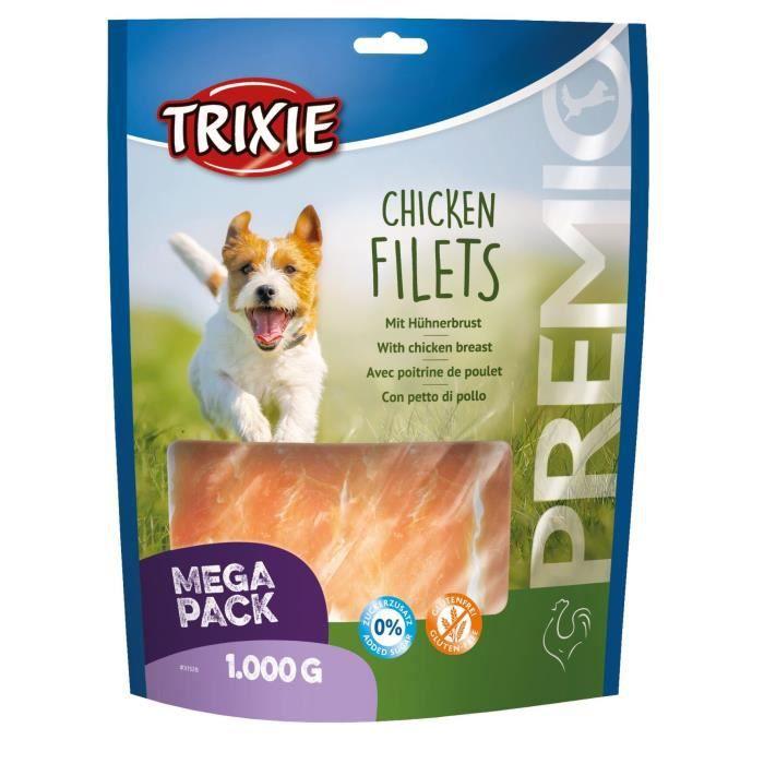 TRIXIE Filets au poulet Premio - 1kg - Pour chien