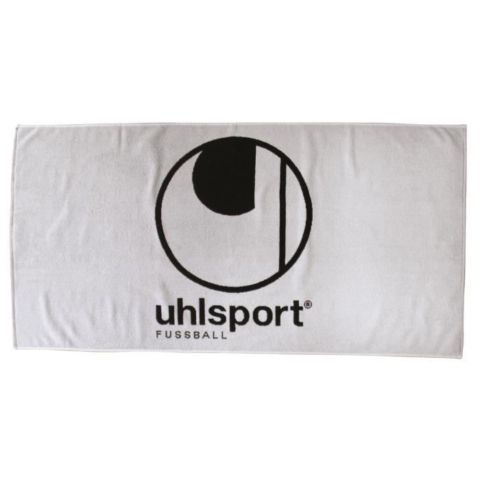 Serviette Uhlsport blanc/noir
