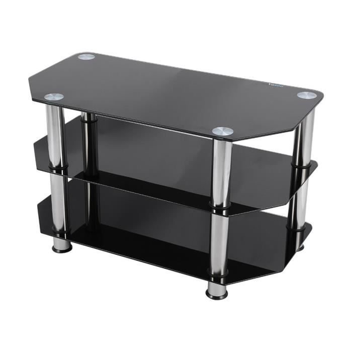 table pour tv lcd plasma achat vente table pour tv lcd plasma pas cher cdiscount. Black Bedroom Furniture Sets. Home Design Ideas