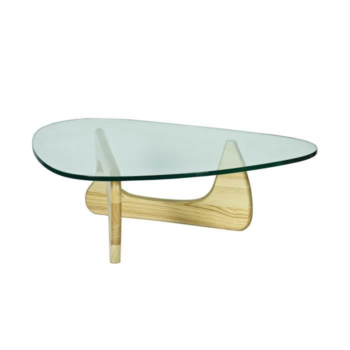table basse noguchi ch ne clair achat vente table. Black Bedroom Furniture Sets. Home Design Ideas