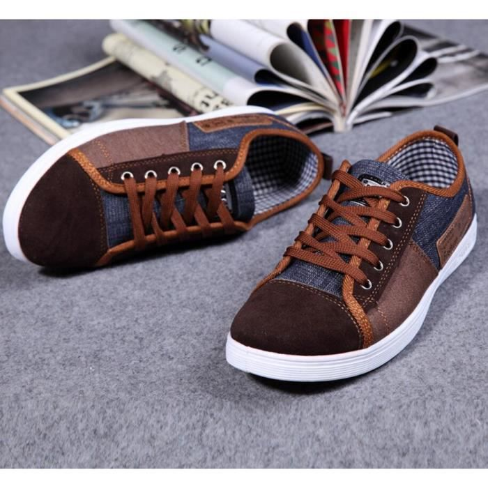 Spring Fashion Leisure Denim Sneakers homme