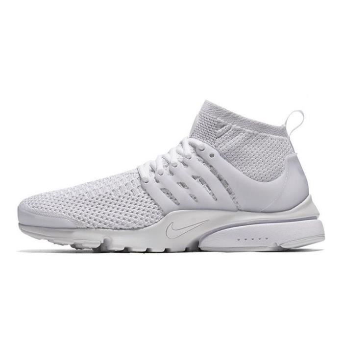 the latest b0ebc 91919 ... Femme Homme Blanche. BASKET Baskets Nike Air Presto Flyknit Ultra,  Chaussures