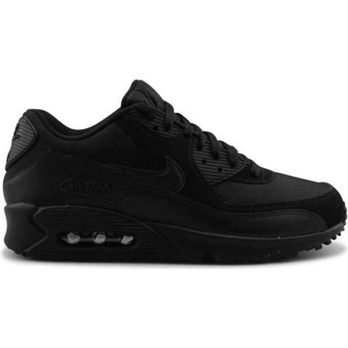 Baskets Homme AIR Max 90 - Noir Noir - Cdiscount Chaussures