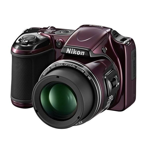 APPAREIL PHOTO BRIDGE NIKON L820 Bridge Violet - CMOS 16MP Zoom 30x