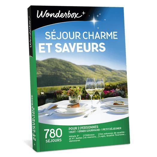 COFFRET SÉJOUR Wonderbox - Coffret cadeau pour deux - Séjour char