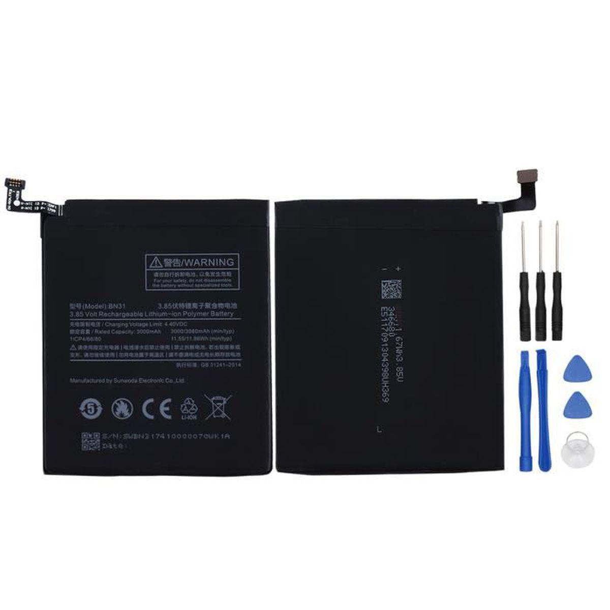 Batterie téléphone Batterie Haute Capacité pour XiaoMi redmi note 5A/