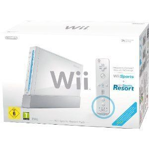 CONSOLE WII Wii Sports Resort Pack Blanc