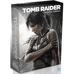 JEUX XBOX 360 TOMB RAIDER : SURVIVAL EDITION / XBOX 360