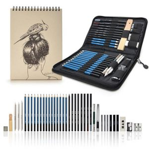CRAYON GRAPHITE AGPtek Set Croquis Dessin Set de Crayon de Dessin