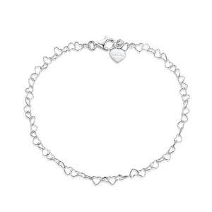 CHAINE DE CHEVILLE Amberta Bijoux - Bracelet de Cheville aux Maille C
