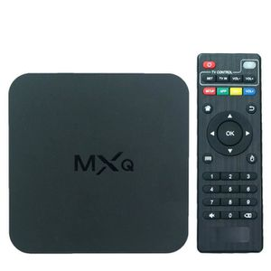 LECTEUR MULTIMÉDIA MXQ Quad-core 1GB RAM 8G ROM Smart Android TV Box