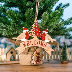 SAPIN - ARBRE DE NOËL DECORATION DE SAPIN Lettre en bois d'arbre de Noël