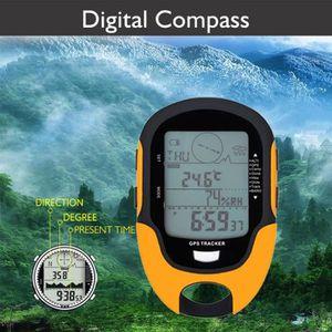 THERMOMÈTRE - BAROMÈTRE GPS SUNROAD Baromètre altimètre numérique recharge