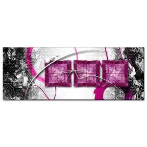 TABLEAU - TOILE Tableau Déco Moderne Déco Abstraite Carrés - Abstr