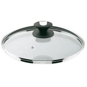 COUVERCLE VENDU SEUL Couvercle en verre Durit - D: 28 cm