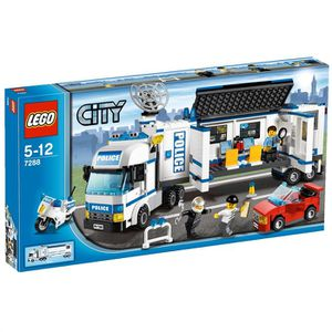 ASSEMBLAGE CONSTRUCTION Lego city  L'Unité De Police Mobile