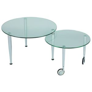 table ronde a roulette achat vente table ronde a. Black Bedroom Furniture Sets. Home Design Ideas