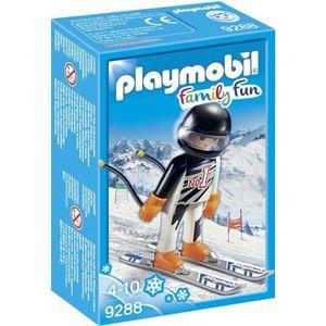 FIGURINE - PERSONNAGE PLAYMOBIL 9288 - Family Fun - Skieur Alpin