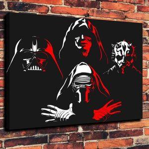 TABLEAU - TOILE Tableau Déco - Toile HD Imprimer - Dark Star Wars