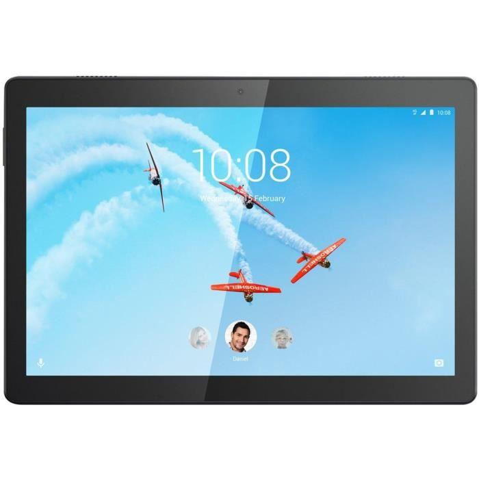 Tablette Tactile - LENOVO M10 - 10,1- FHD - RAM 3Go - Stockage 32Go - Android 9 - Noir
