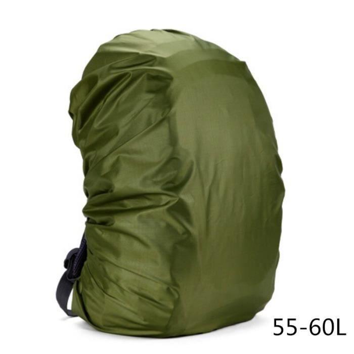 Housse imperméable pour sac à dos 35-80l, housse anti-poussière pour sac à dos, housse imperméable pour Camping en [694D025]