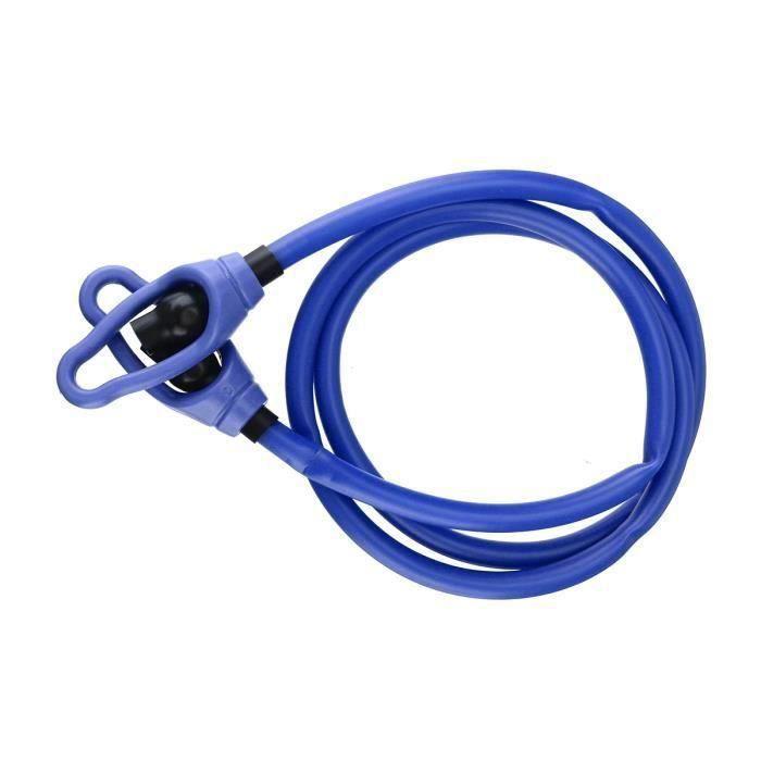 AVANC Bande de Résistance Elastique Sangle Fitness Bras bleu 25lbs