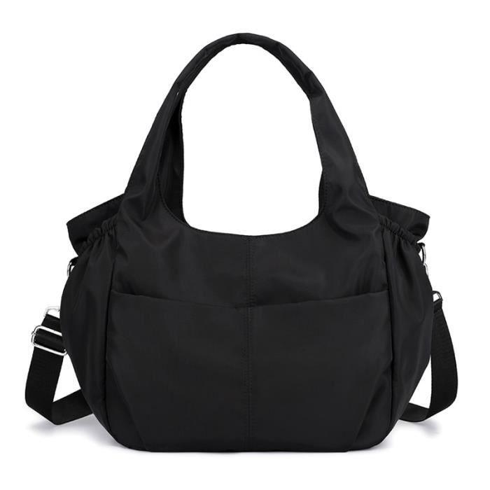 Sac et Bagage Sport,2019 tapis de Yoga en plein air sac Gym Tas pour fitness femme sac de sport femme fourre - Type Noir couleur