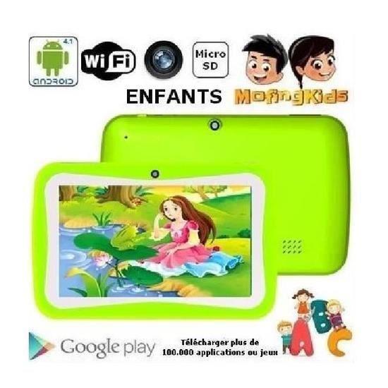 vert tablette tactile PC pour Education enfant Children Android 5.1 Quad Core 8GB Camera PC