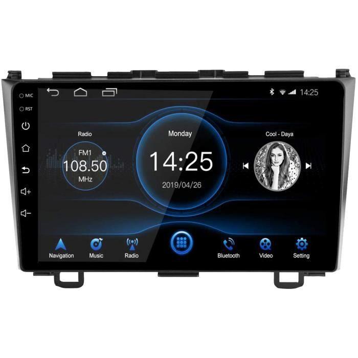 Android 10.1 Autoradio pour Honda CRV 2007-2011, 9 Pouces Radio à écran Tactile Navigation GPS Audio de Voiture avec Radio Am-[365]