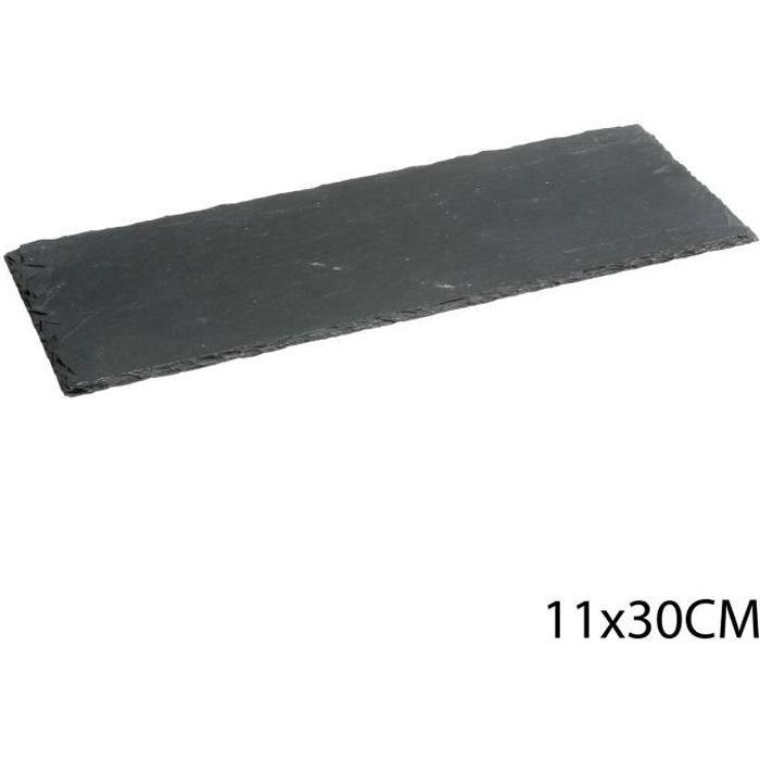 Assiette en ardoise - L. 30 cm