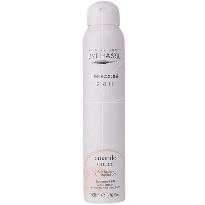 Byphasse - Déodorant 24H amande douce - 200ml