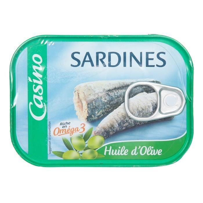 Sardines à l'huile d'olive - 135gx2