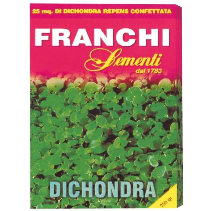 Semences pour gazon dichondra Franchi 250 g pour 25 mètres carrés de gazon