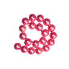 200 x Perle en Verre Nacrée 4mm Rose Vif
