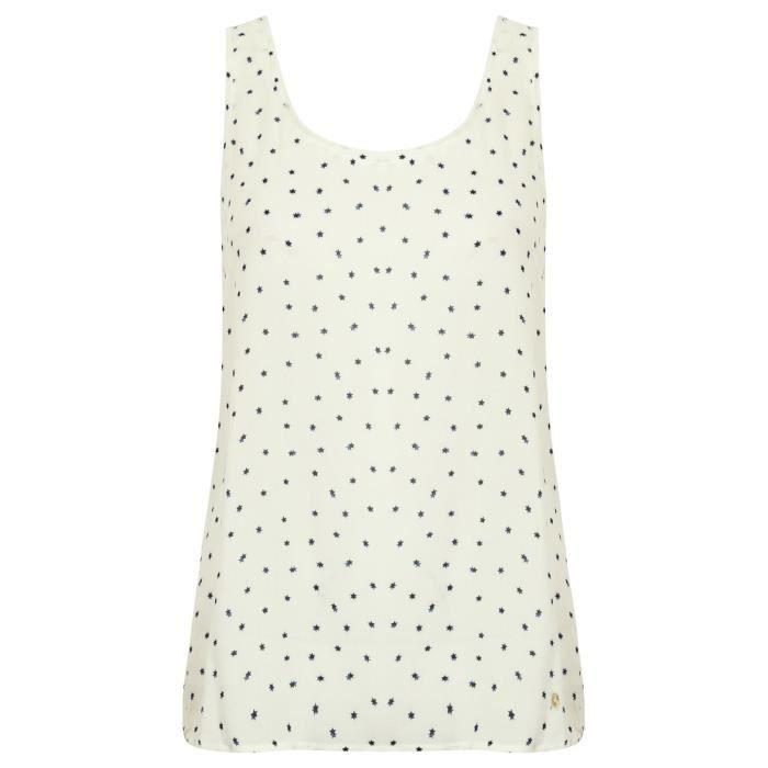 Jeans Armani femmes blanc chemise impression étoile