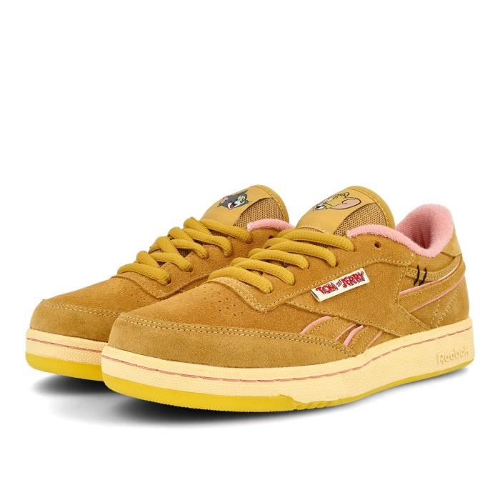 Basket Reebok Club C Revenge Tom & Jerry fille