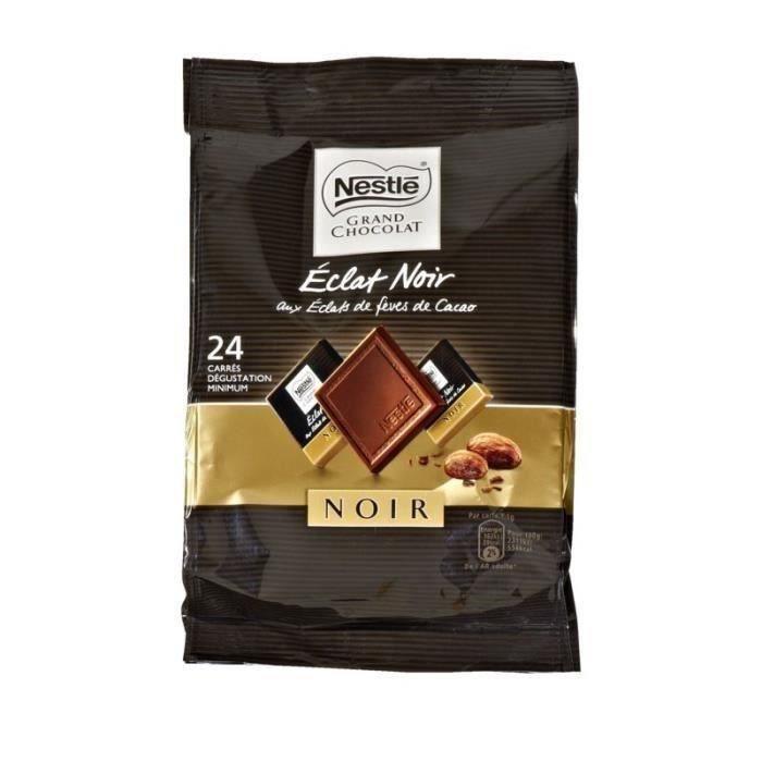 NESTLE Mini chocolat Eclat Noir aux éclats de fèves de cacao - 192 g