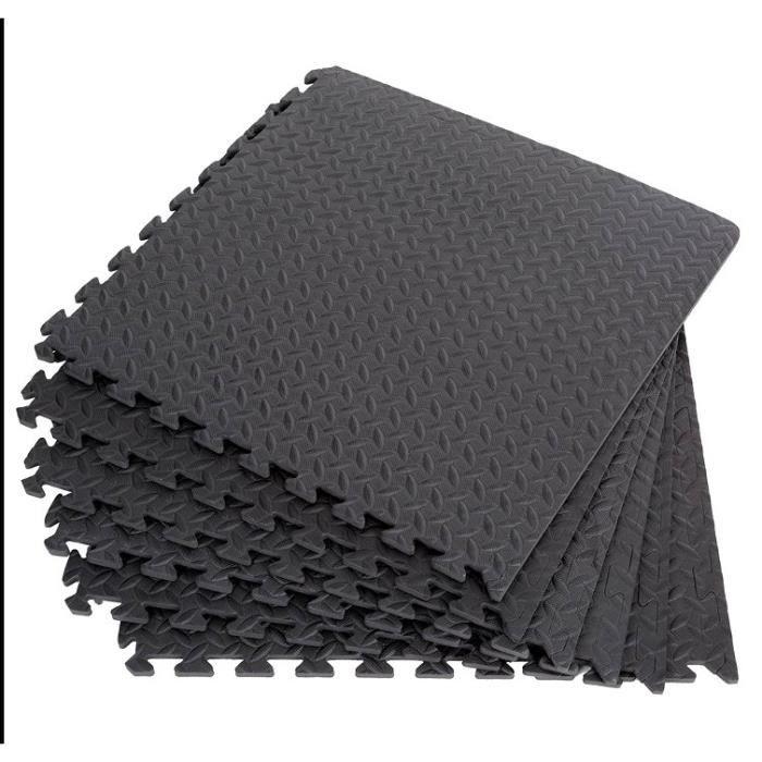 OUTAD 60*60cm Tapis de protection de sol Tapis puzzle en mousse EVA 48pcs