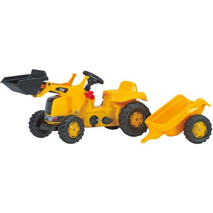 Tracteur à pédales CATERPILLAR avec chargeur et r…