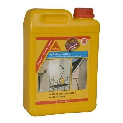 Hydrofuge incolore pour facade SIKAGARD PROTECTION FACADE 2 L