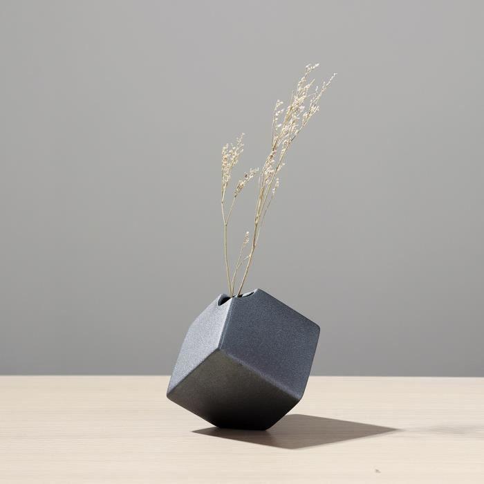 TEMPSA Vase De Fleur Céramique Décoratif Fait Main Pour Table Chambre TYPE V