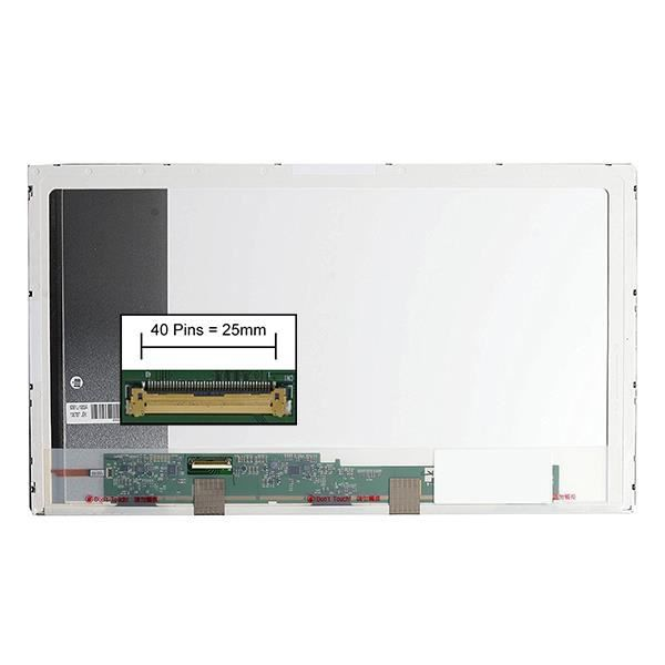 Dalle écran LCD LED type Toshiba PSCBAE-02Y00HDU 17.3 1600x900 - Mate