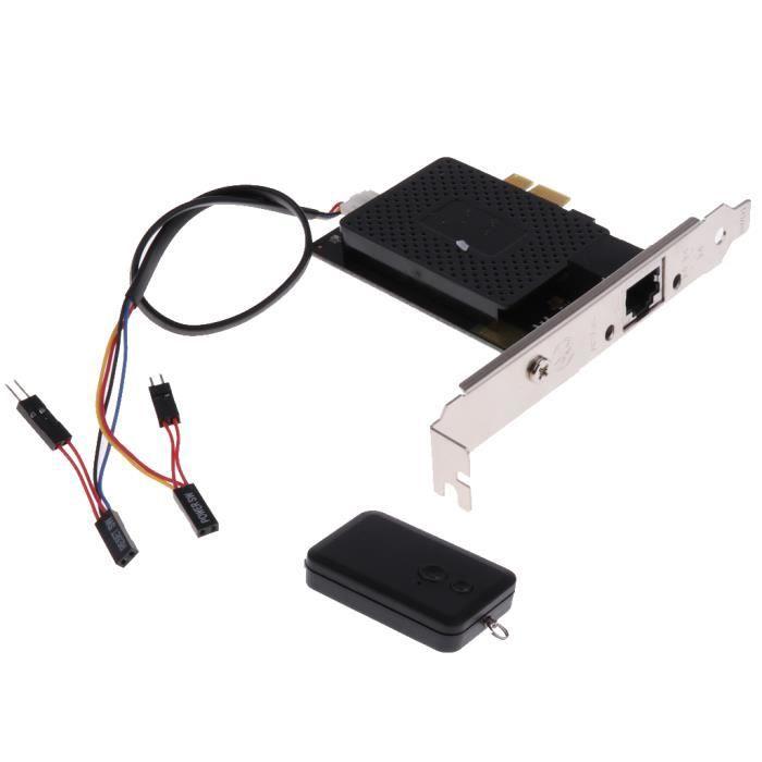 BOITIER PC - PANNEAUX LATERAUX 1x carte réseau