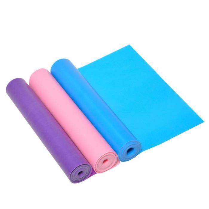 1 Pc Yoga Strap Portable Pratique Durable Creative Résistance Bande Tension Ceinture TAPIS DE SOL - TAPIS DE GYM - TAPIS DE YOGA