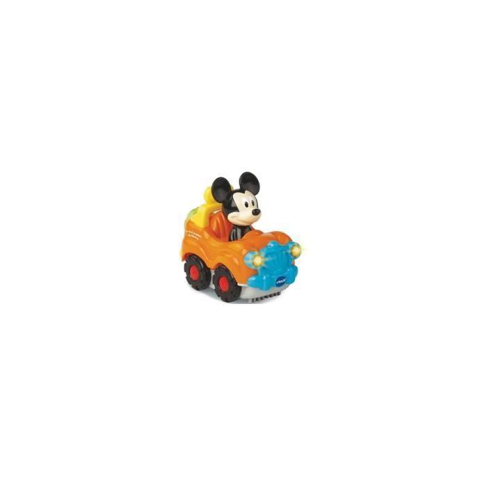 Vehicule 4x4 magique de Mickey : 3 chansons, 6 melodies - Tut Tut Bolides Disney - Jouet Vtech Bebe