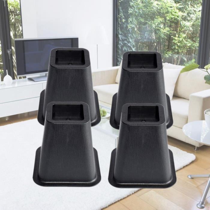 4pcs table de lit pieds tapis résistant à l'usure rehausser les pour chambre salon TAPIS DE SOL - TAPIS DE GYM - TAPIS DE YOGA