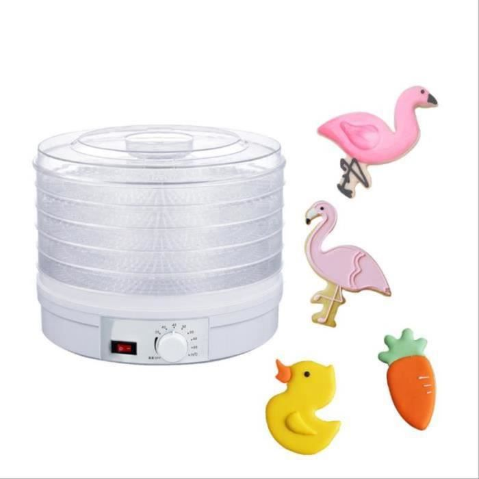 QL30729-5 Niveaux Déshydrateur de Fruit Outils de Cuisson Séchoir à Biscuits Fondant Déshydrateur d'Aliments Électrique Domicile
