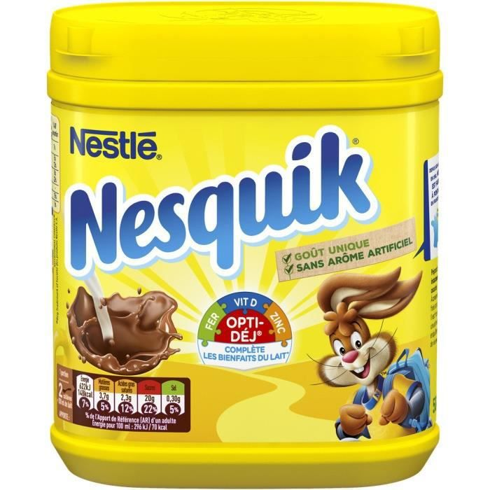 Poudre de cacao 500 g NESQUIK