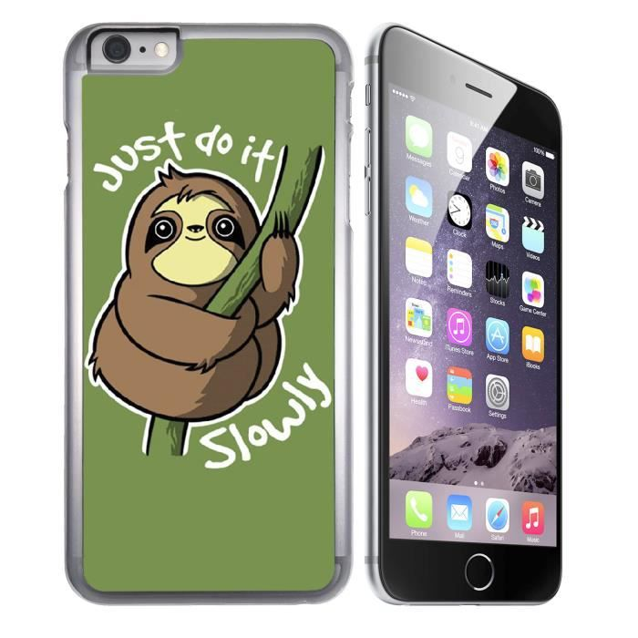 Coque iPhone 6 - 6S Just Do it Slowly