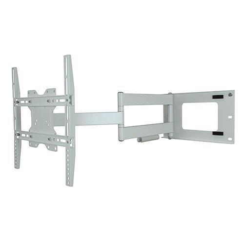 Dq hercules fixed 400 blanc cass support mural tv fixation support tv a - Support tv mural blanc ...